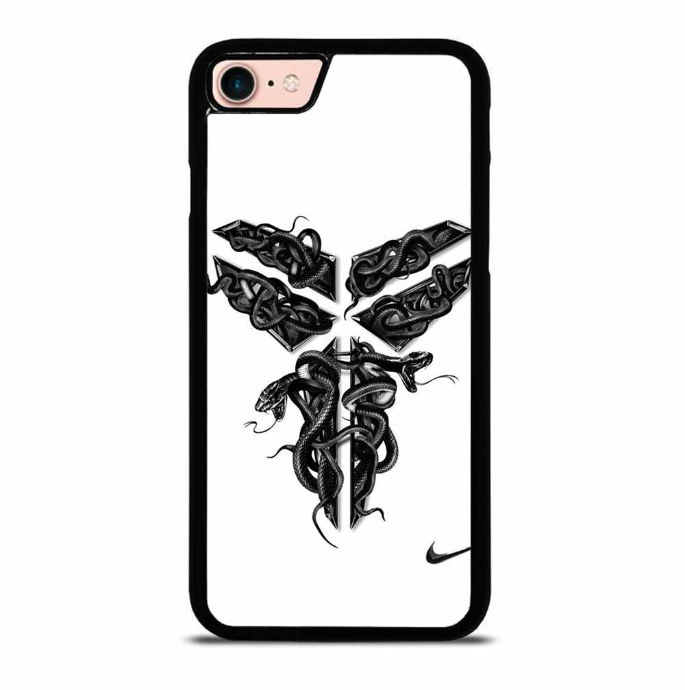 BLACK MAMBA LOGO SNAKE WHITE iPhone 7 / 8 case