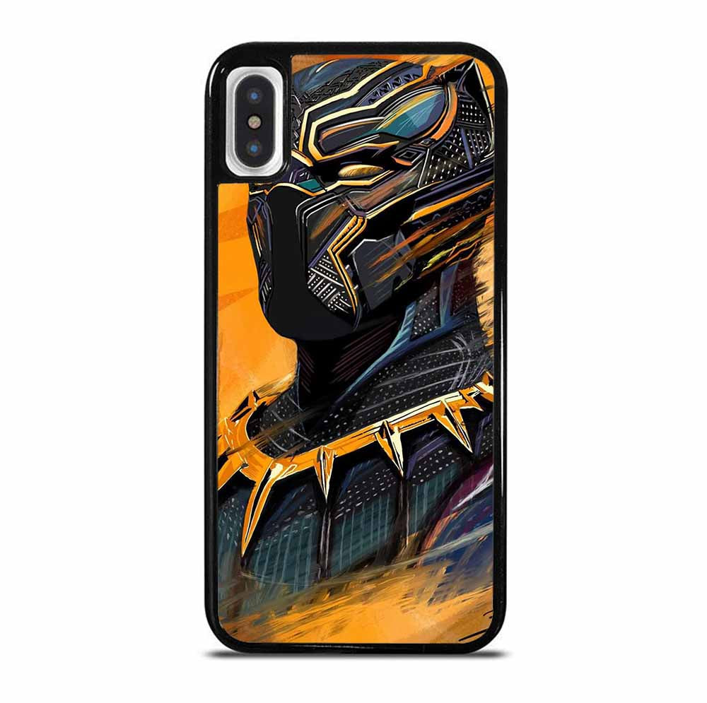 BLACK PANTHER 1 6/6S 7 8 Plus X/XS Max XR 11 Pro Case