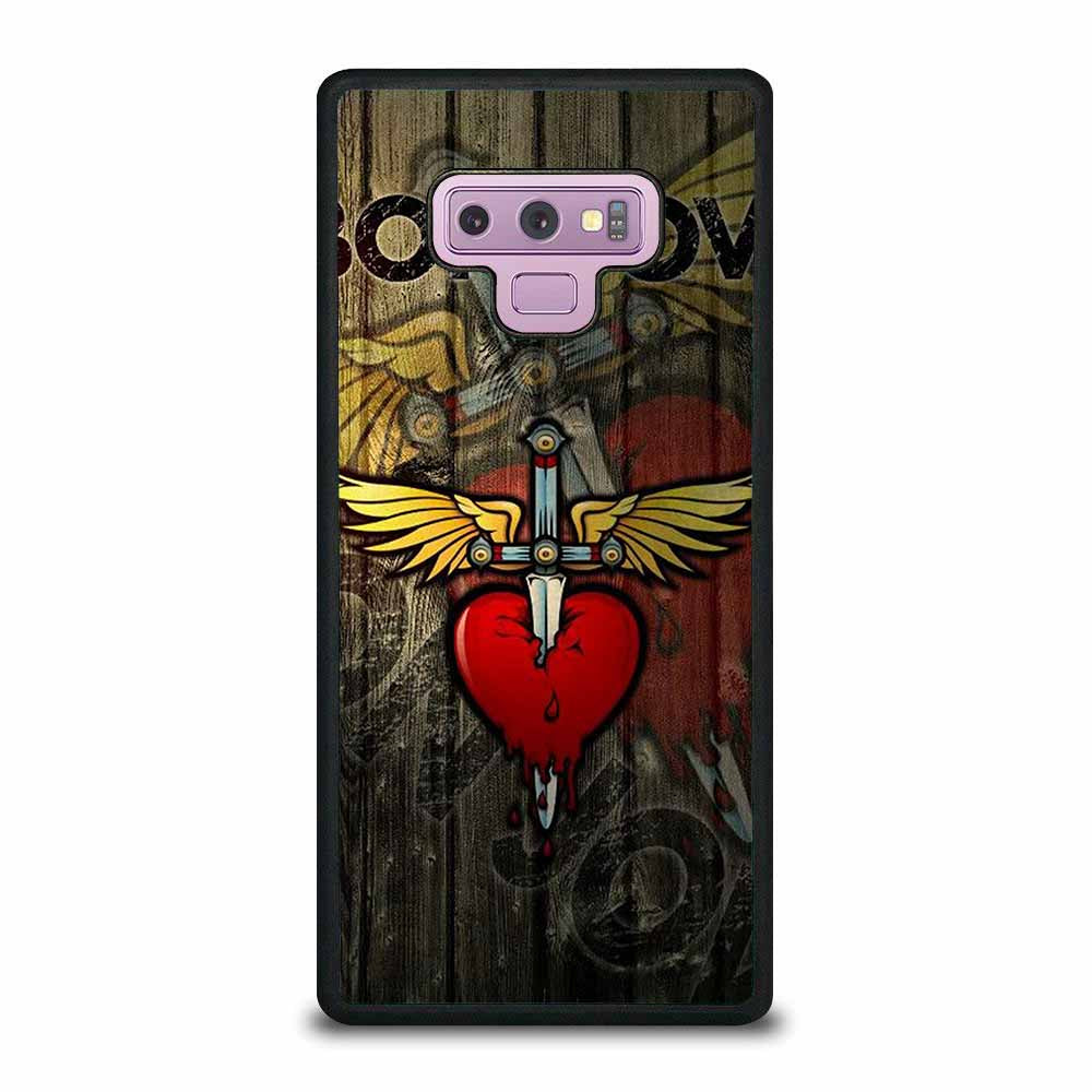 BON JOVI LOGO WOODS Samsung Galaxy Note 9 case