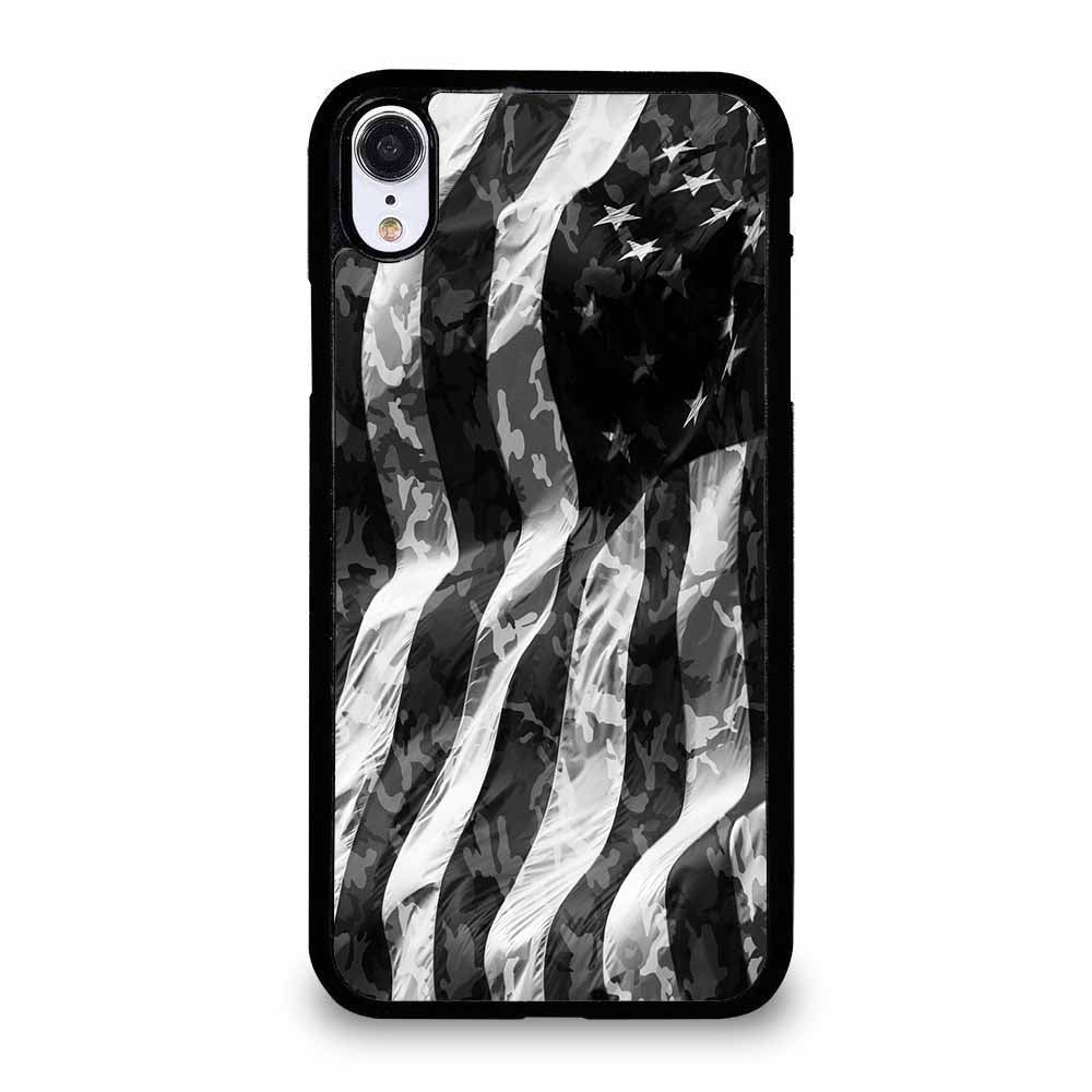CAMO AMERICAN FLAG iPhone XR Case