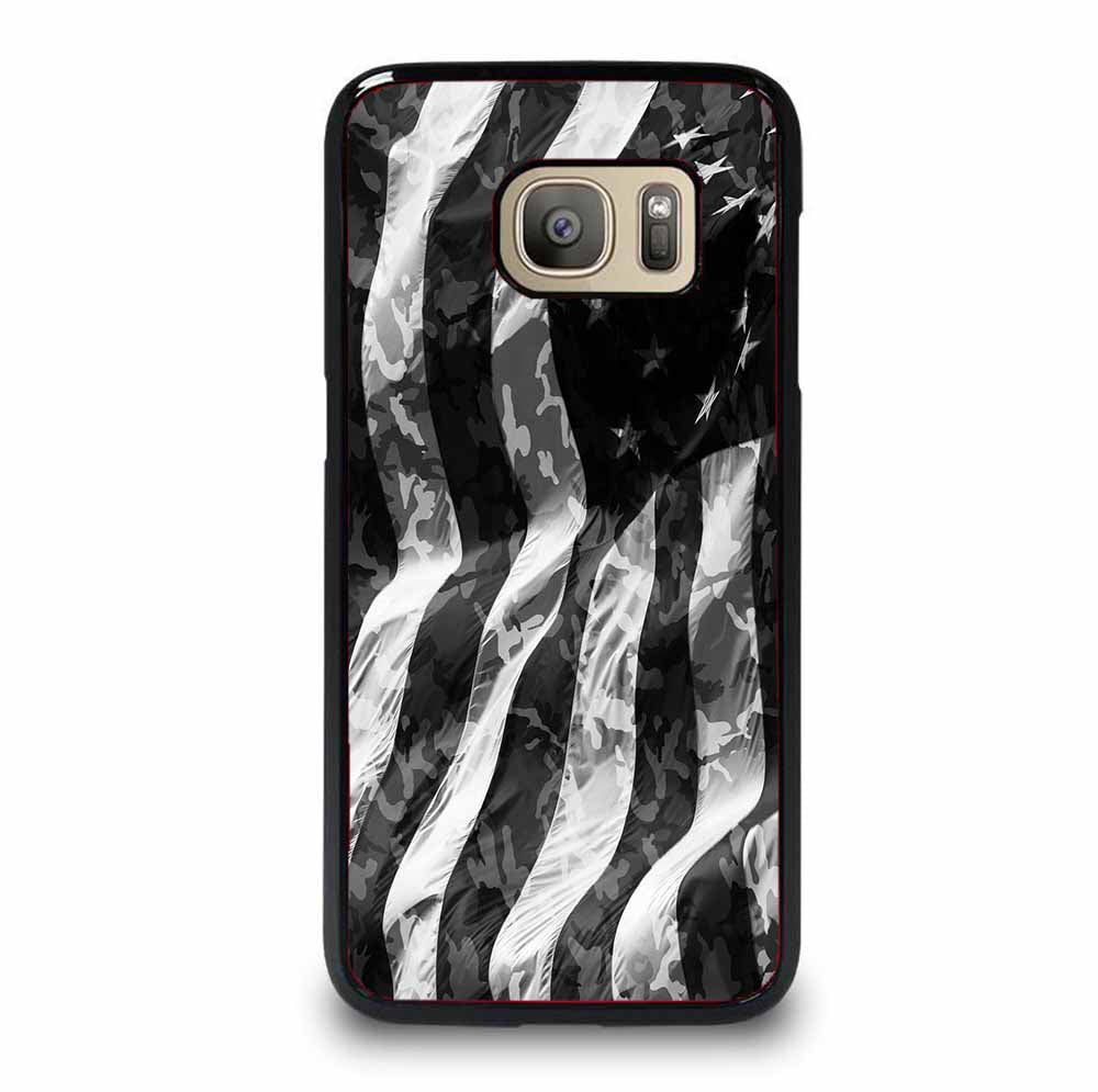 CAMO AMERICAN FLAG Samsung Galaxy S6 Edge Plus Case