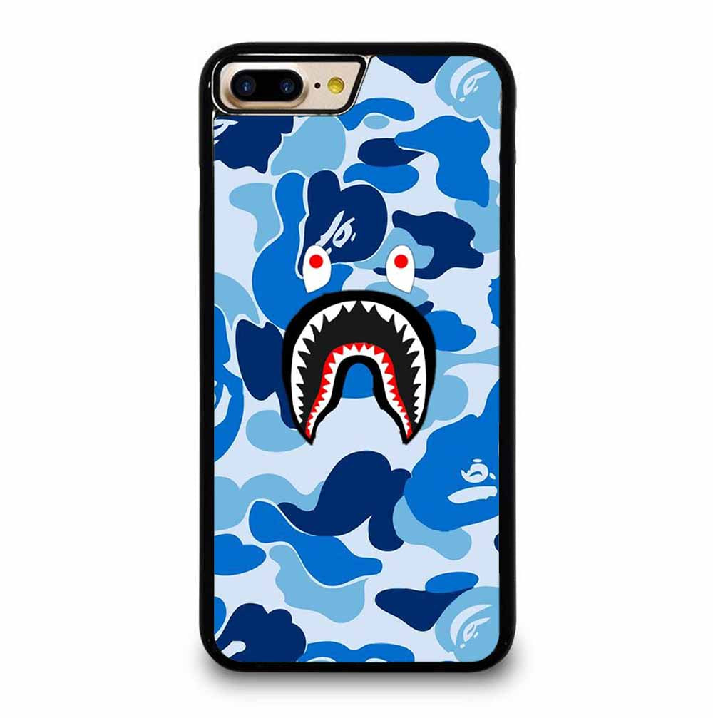 CAMO BAPE SHARK BLUE iPhone 7 / 8 PLUS case