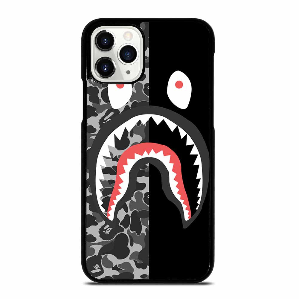 CAMO BAPE SHARK SILVER iPhone 11 Pro Case