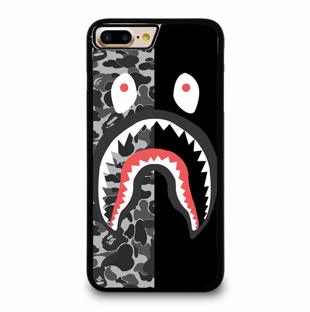 CAMO BAPE SHARK SILVER iPhone 7 / 8 PLUS case