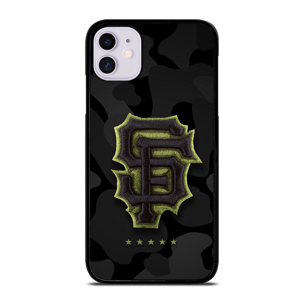 CAMO SAN FRANCISCO GIANT LOGO iPhone 11 Case