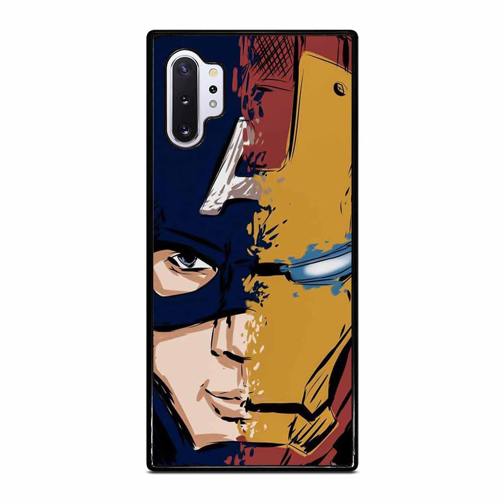 CAPTAIN AMERICA FT IRON MAN Samsung Galaxy Note 10 Plus Case