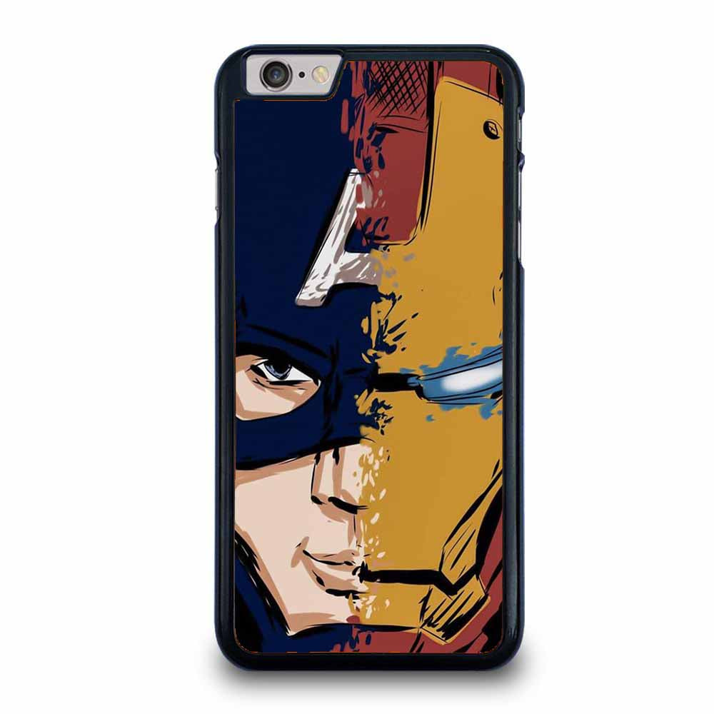 CAPTAIN AMERICA FT IRON MAN iPhone 6 / 6S Plus Case