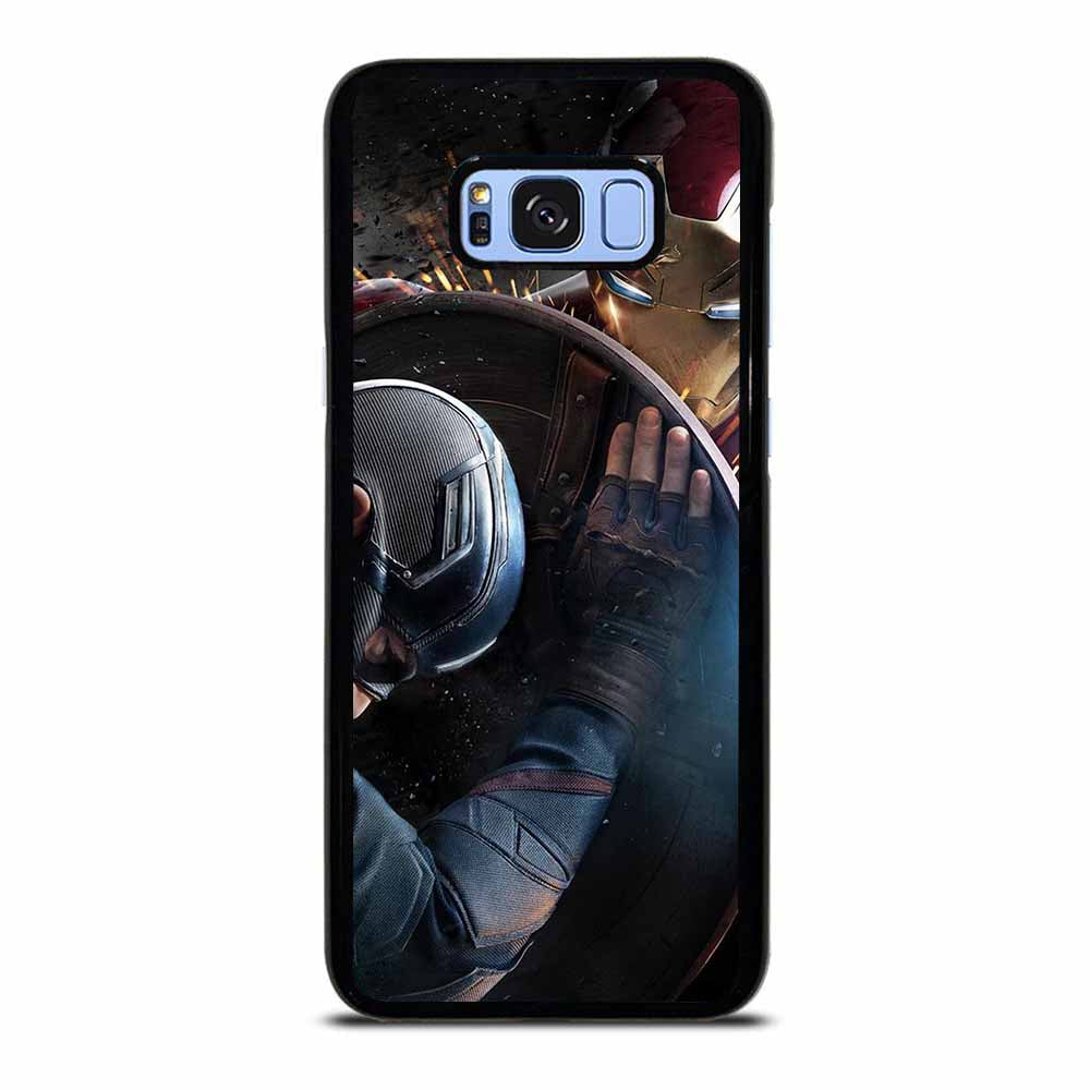 CAPTAIN AMERICA VS IRON MAN Samsung Galaxy S8 Plus Case