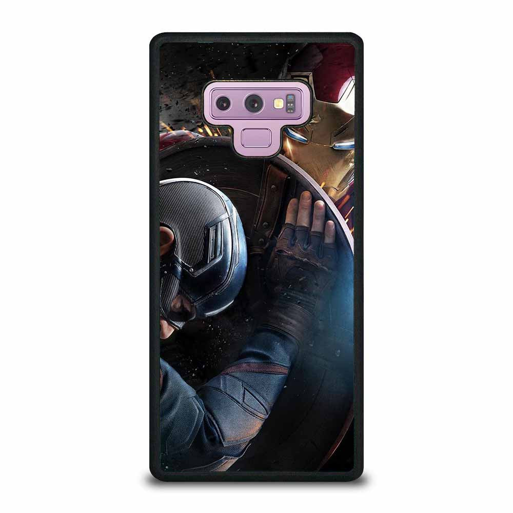 CAPTAIN AMERICA VS IRON MAN Samsung Galaxy Note 9 Case