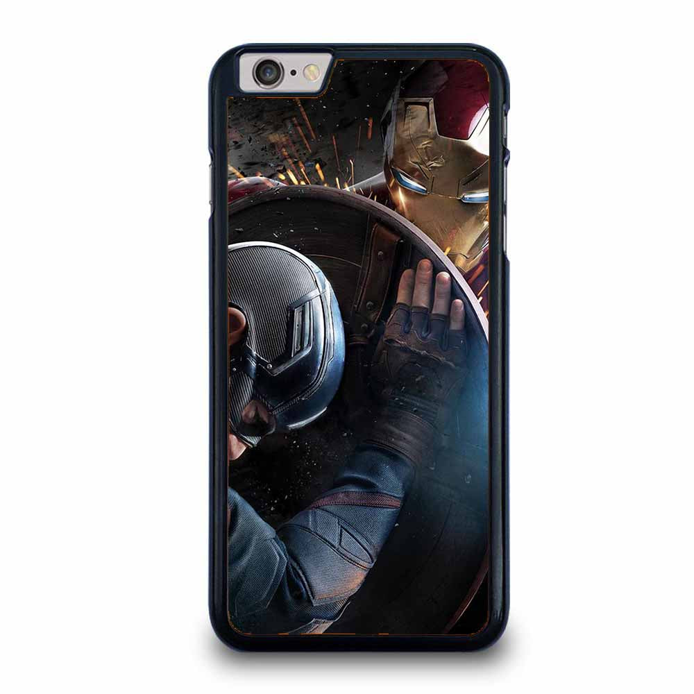 CAPTAIN AMERICA VS IRON MAN iPhone 6 / 6S Plus Case
