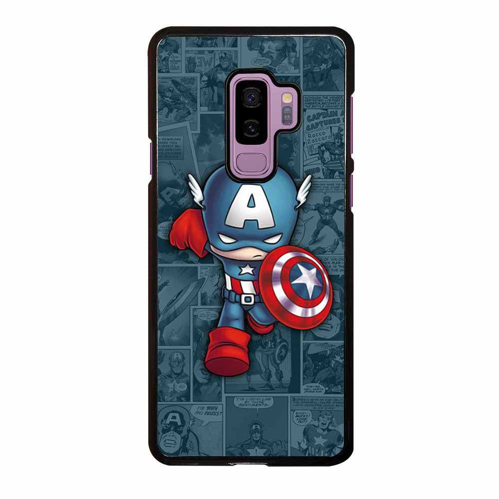 CAPTAIN AMERIC COMIC Samsung Galaxy S9 Plus case