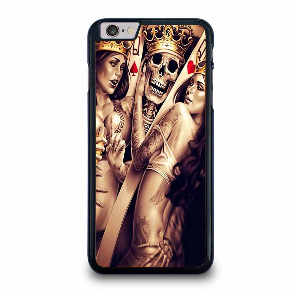 CARD QUEEN SKOLL iPhone 6 / 6S Plus case