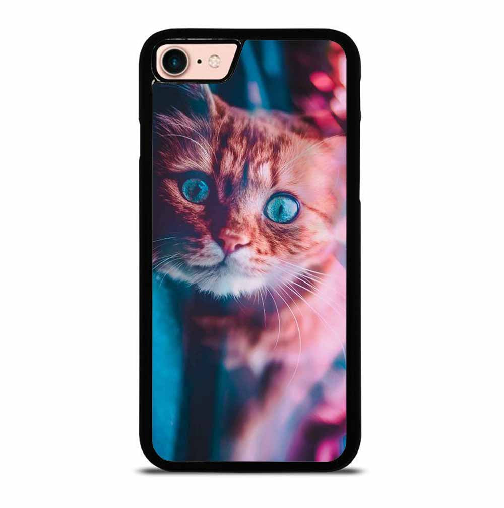 CAT AND THE CITY LIGHTS iPhone 7 / 8 case