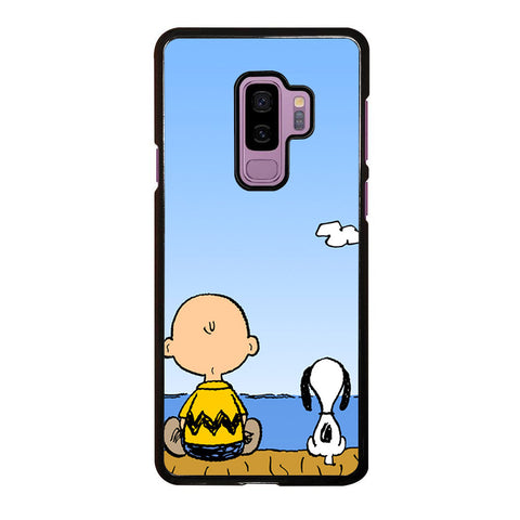 CHARLIE BROWN AND SNOOPY Samsung Galaxy S9 Plus case