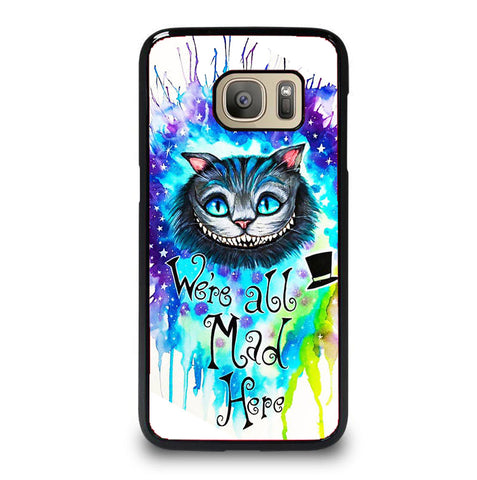 CHESIRE CAT 33 Samsung Galaxy S7 case
