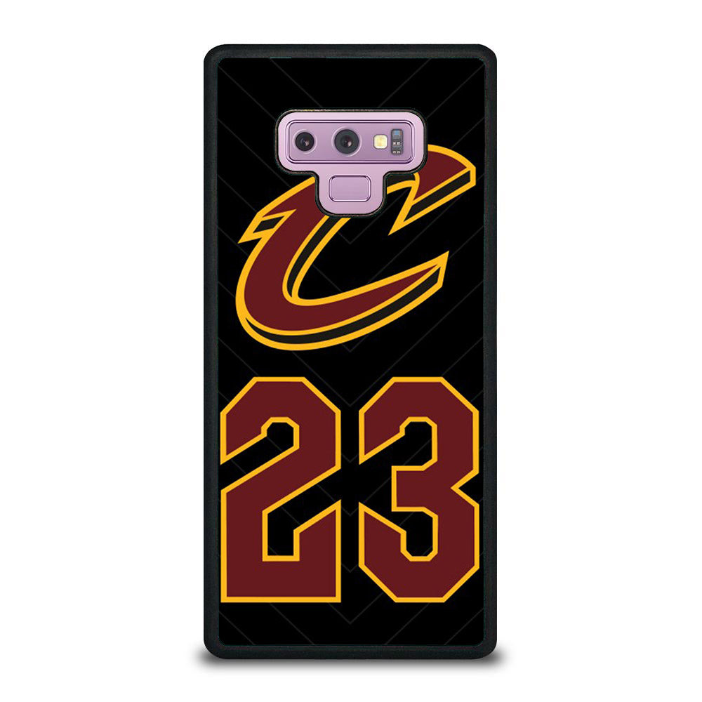 CLEVELAND CAVALIERS C 23 Samsung Galaxy Note 9 case
