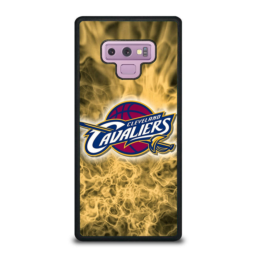 CLEVELAND CAVALIERS LOGO GOLD Samsung Galaxy Note 9 case