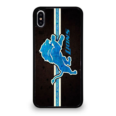 DETROIT LIONS LOGO iPhone XS Max Case
