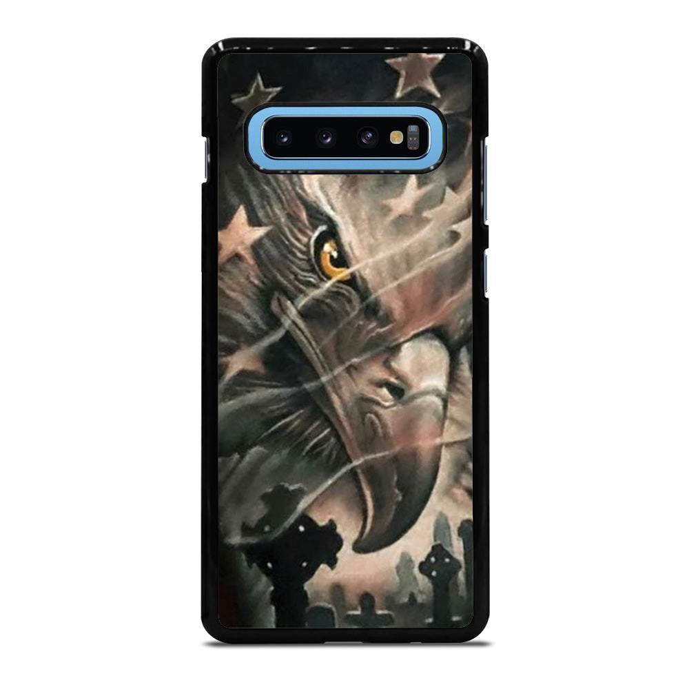 EAGLE AMIRICAN FLAG Samsung Galaxy S10 Plus case