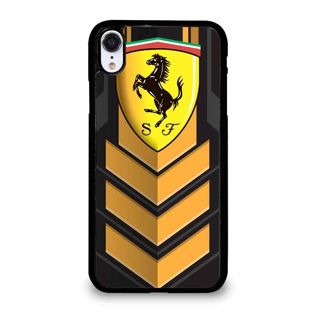 FERRARI LOGO-1 iPhone XR Case