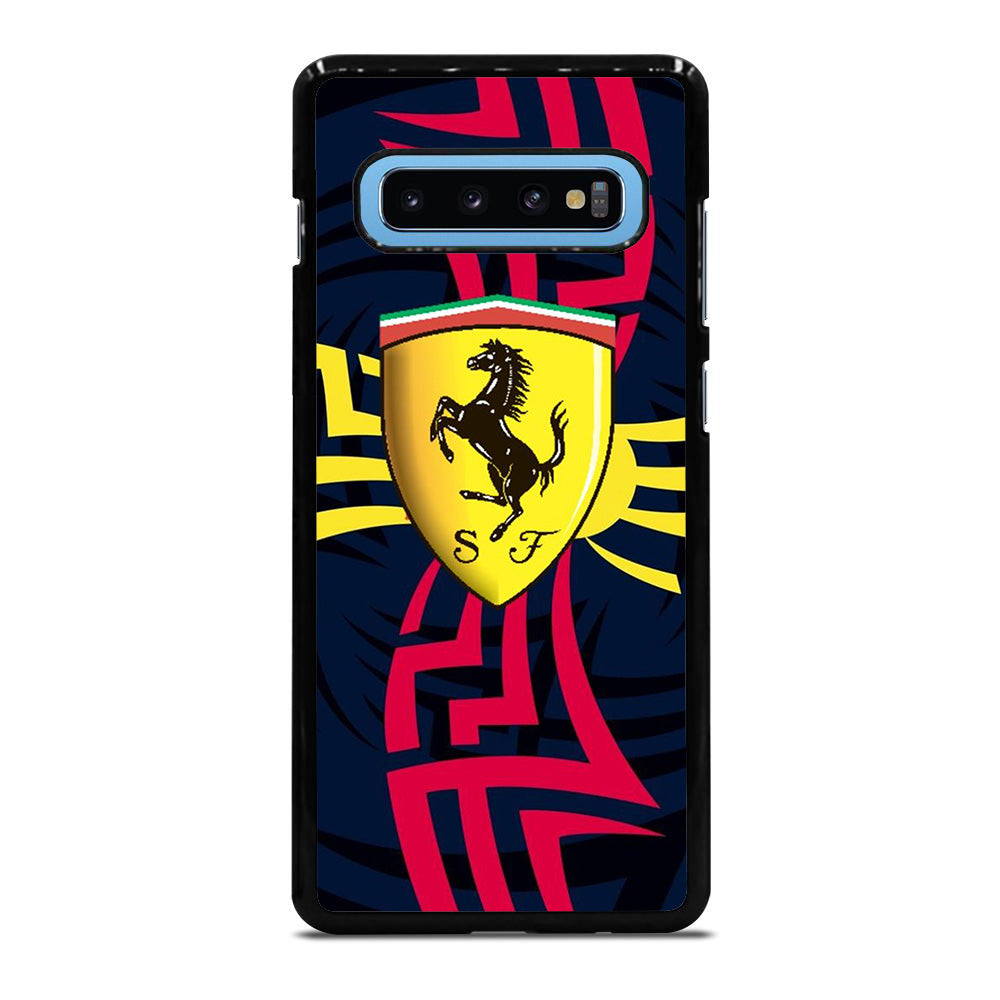 FERRARI LOGO TRIBAL Samsung Galaxy S10 Plus case