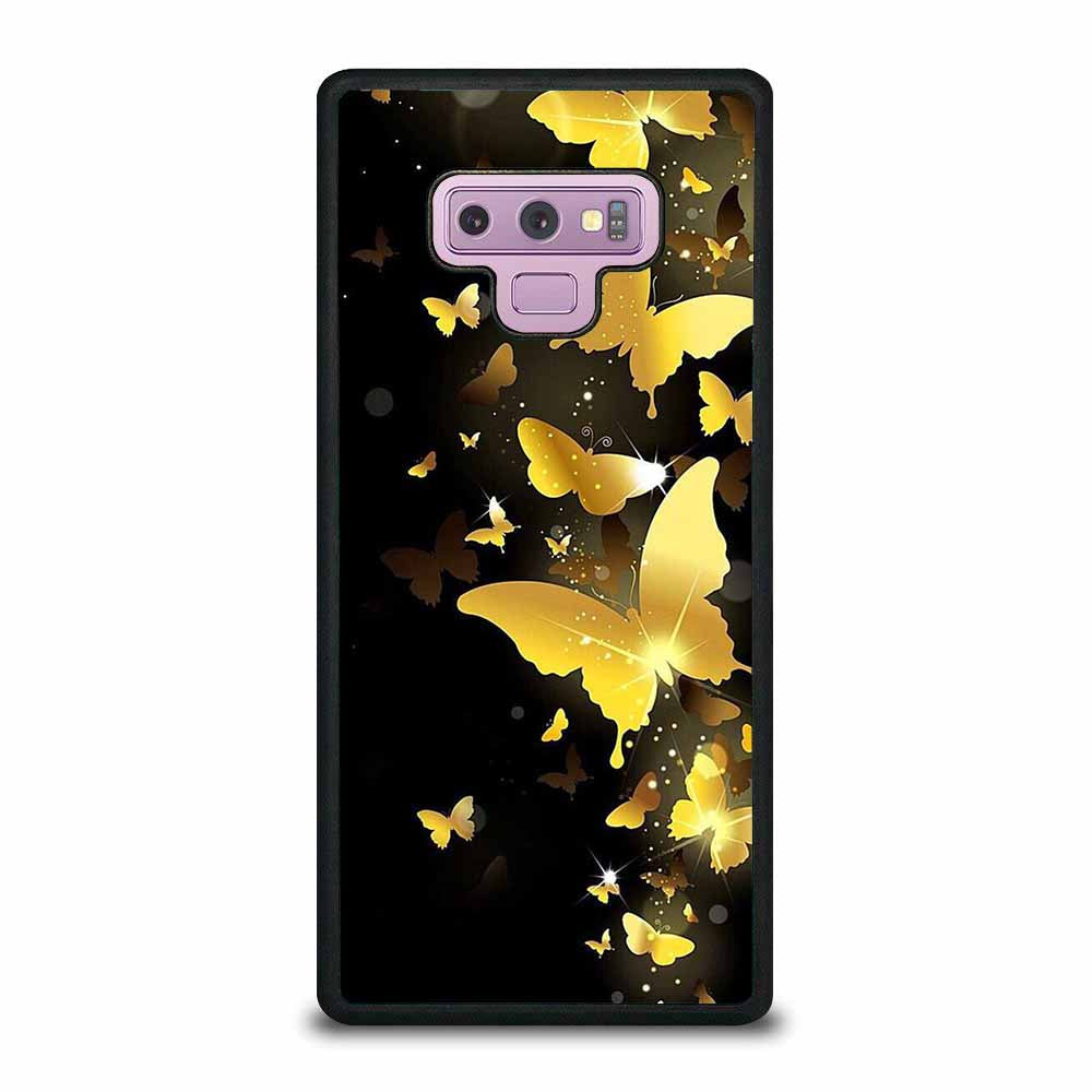GOLDEN BTTERFLAY Samsung Galaxy Note 9 case
