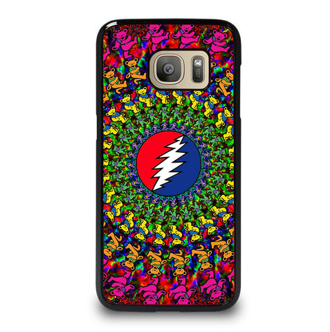 GRATEFUL DEAD DANCING BEARS LOGO 2 Samsung Galaxy S7 case