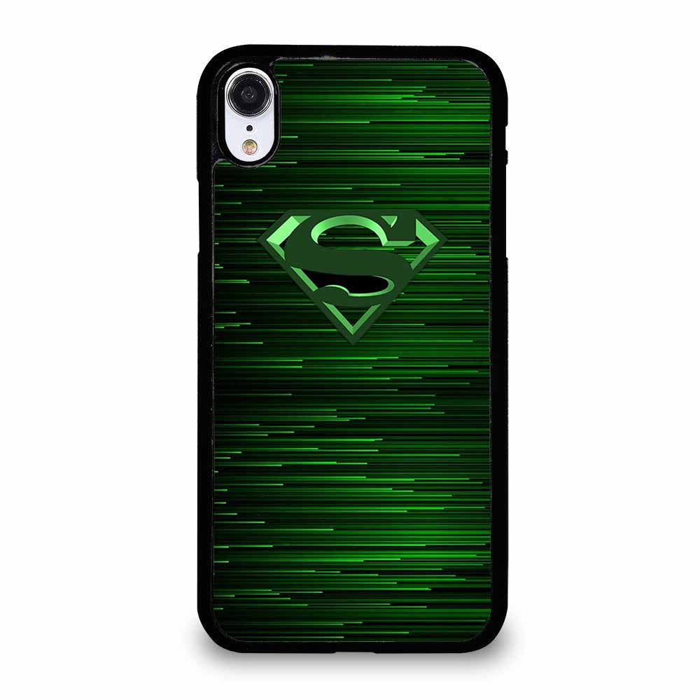 GREEN SUPERMAN iPhone XR Case