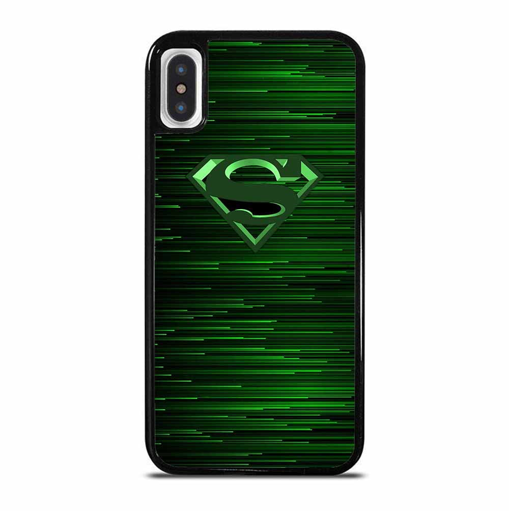 GREEN SUPERMAN iPhone X / XS Case
