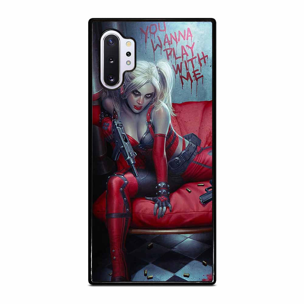 HARLEY QUINN HOT Samsung Galaxy Note 10 Plus case