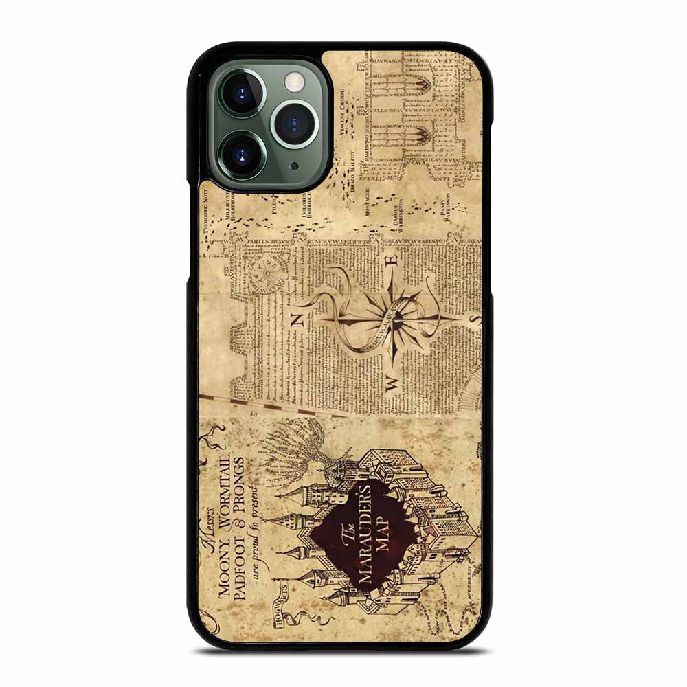 HARRY POTTER MAP iPhone 11 Pro Max Case
