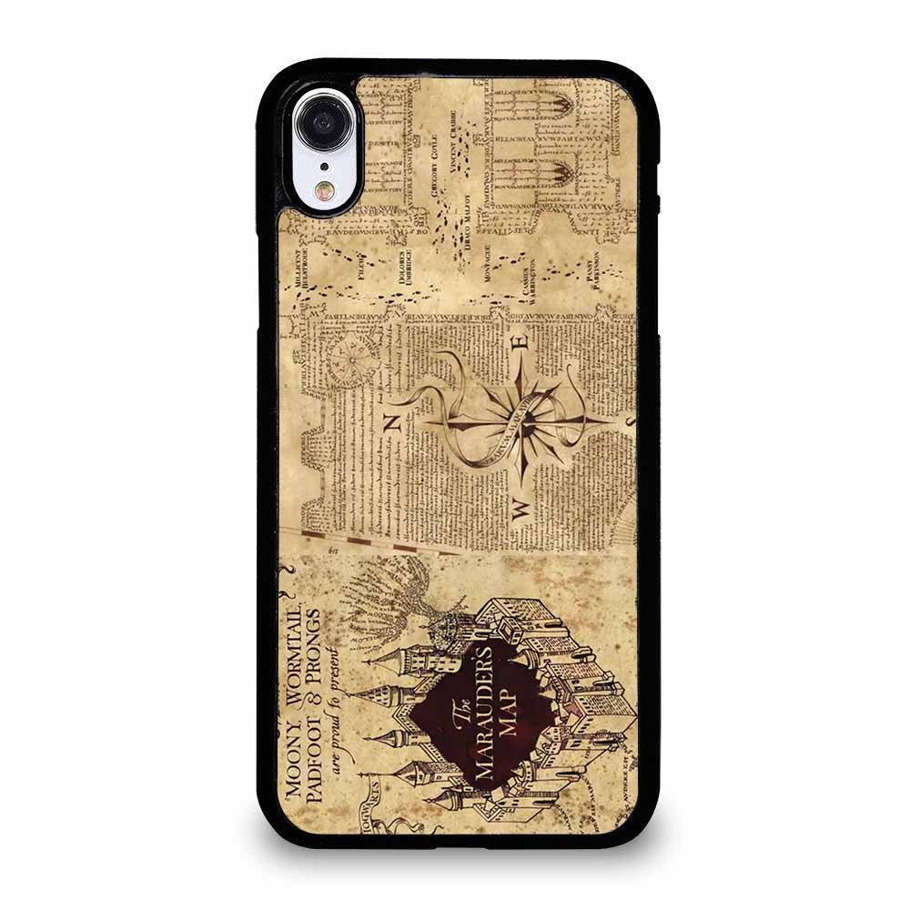 HARRY POTTER MAP iPhone XR Case