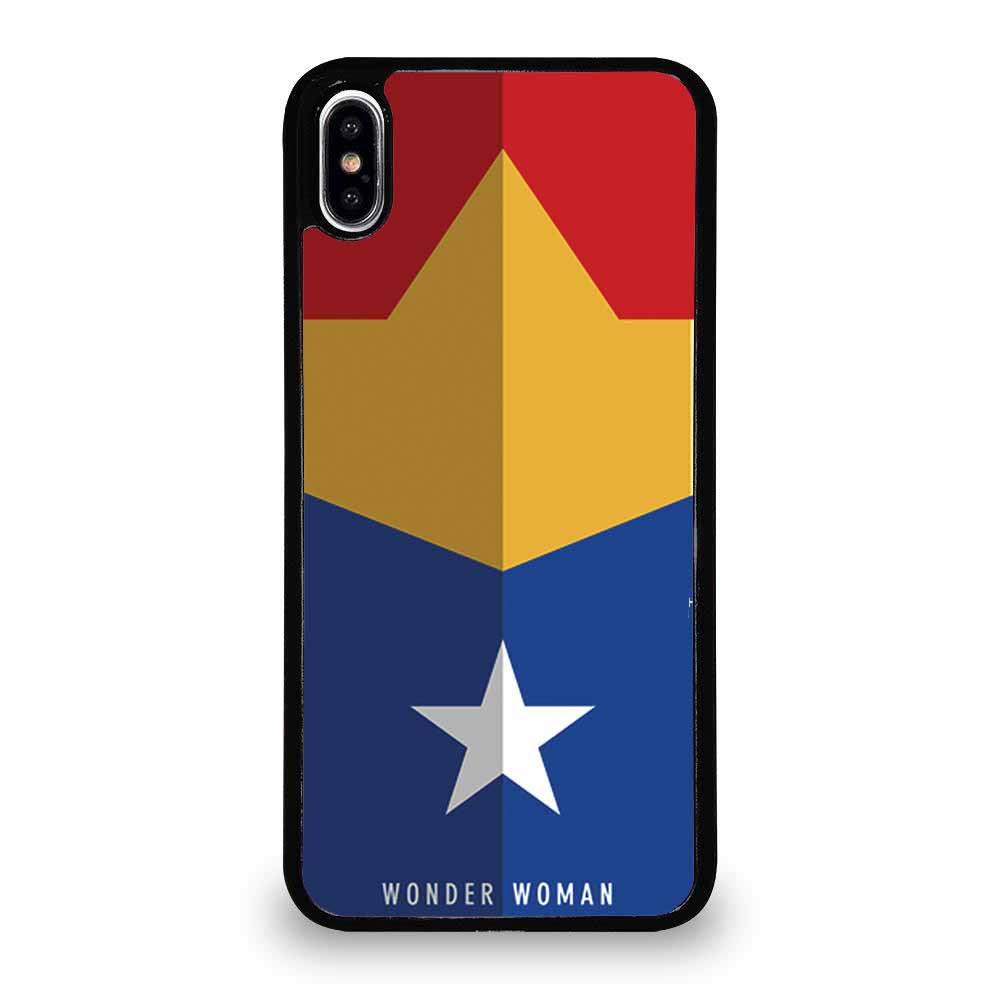 HOT WONDER WOMAN LOGO iPhone XS Max Case