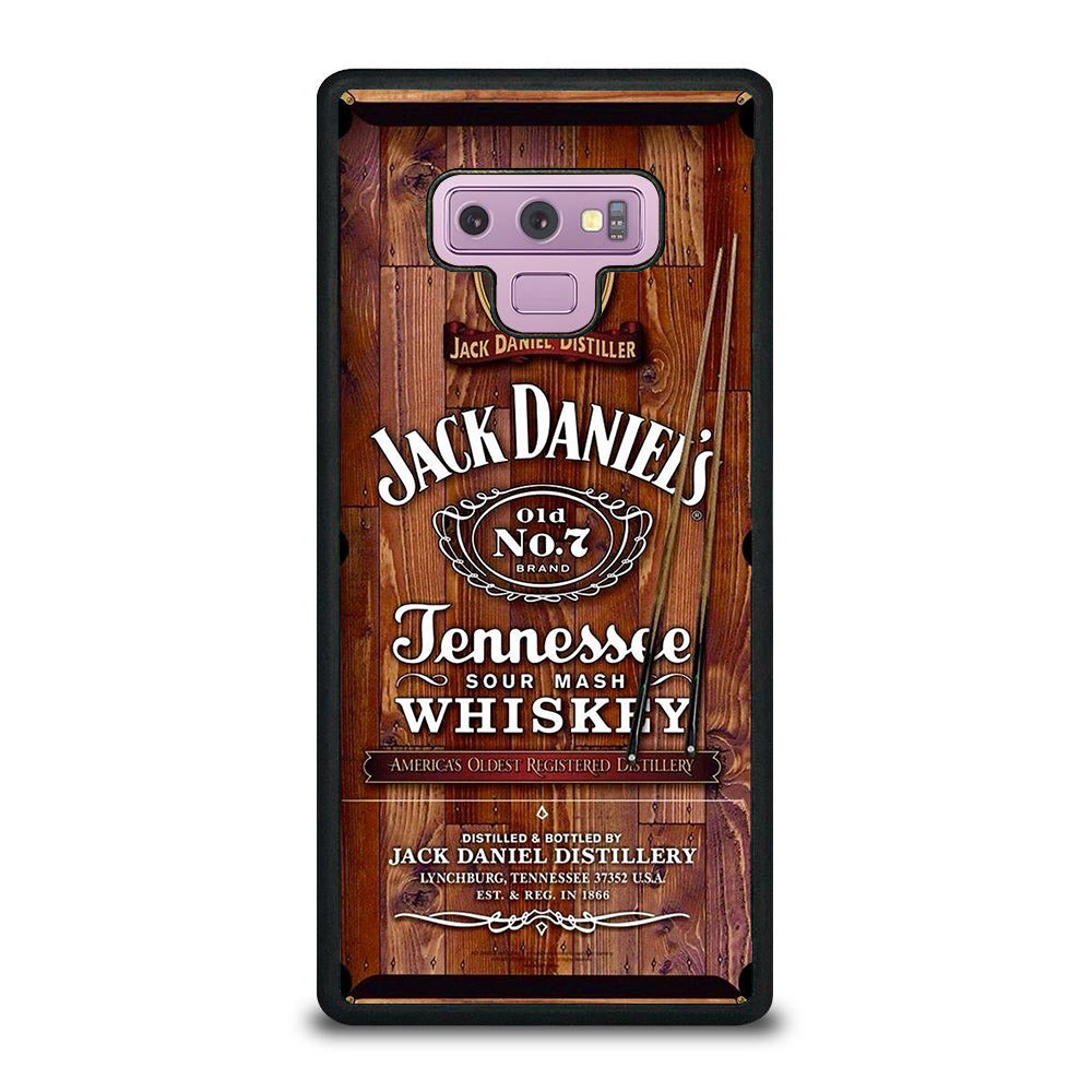 JACK DANIELS TABLE BILLIARDS Samsung Galaxy Note 9 case