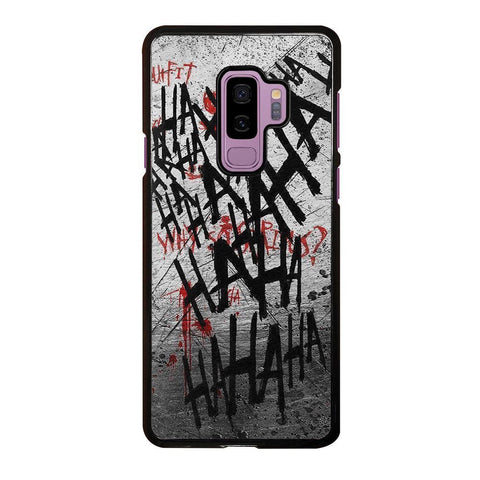 JOKER HAHAHA BLOOD Samsung Galaxy S9 Plus case