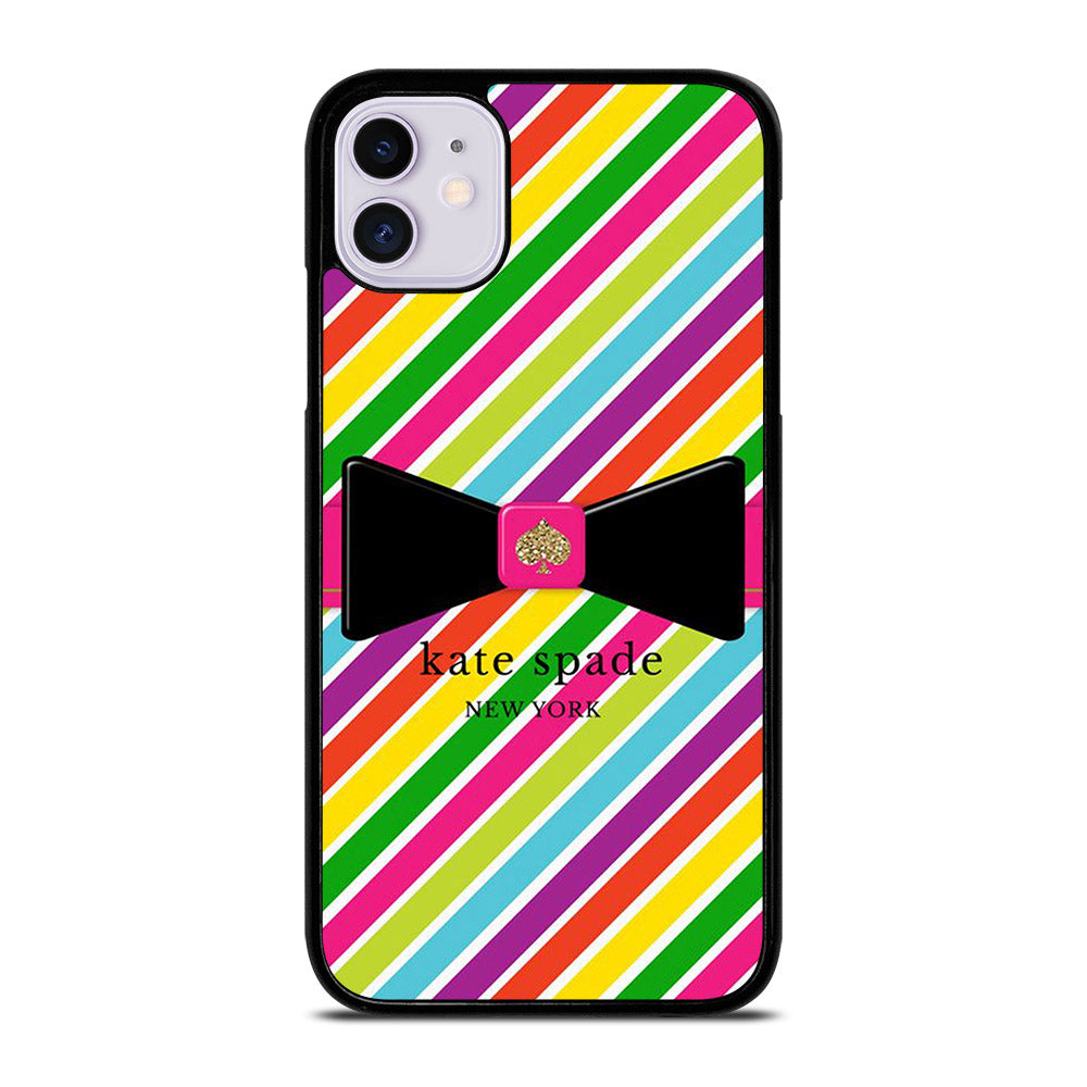 KATE SPADE RAINBOW LINE iPhone 11 Case