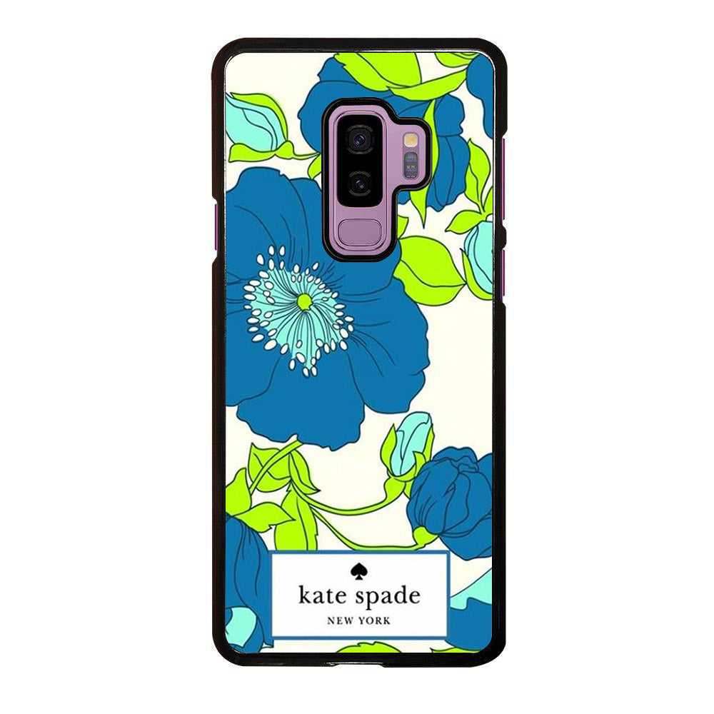 KATE SPADE ROSE BLUE Samsung Galaxy S9 Plus case