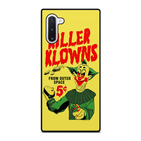 KILLER KLOWNS MOVIE Samsung Galaxy Note 10 case