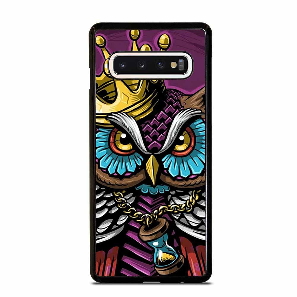 KING OF OWL Samsung Galaxy S6 S7 Edge S8 S9 S10 Plus 5G S10e Note 8 9 10 Case Samsung Galaxy S6 S7 Edge S8 S9 S10 Plus 5G S10e Note 8 9 10 Case