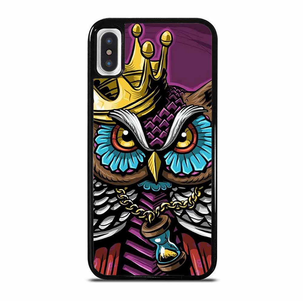 KING OF OWL 6/6S 7 8 Plus X/XS Max XR 11 Pro Case