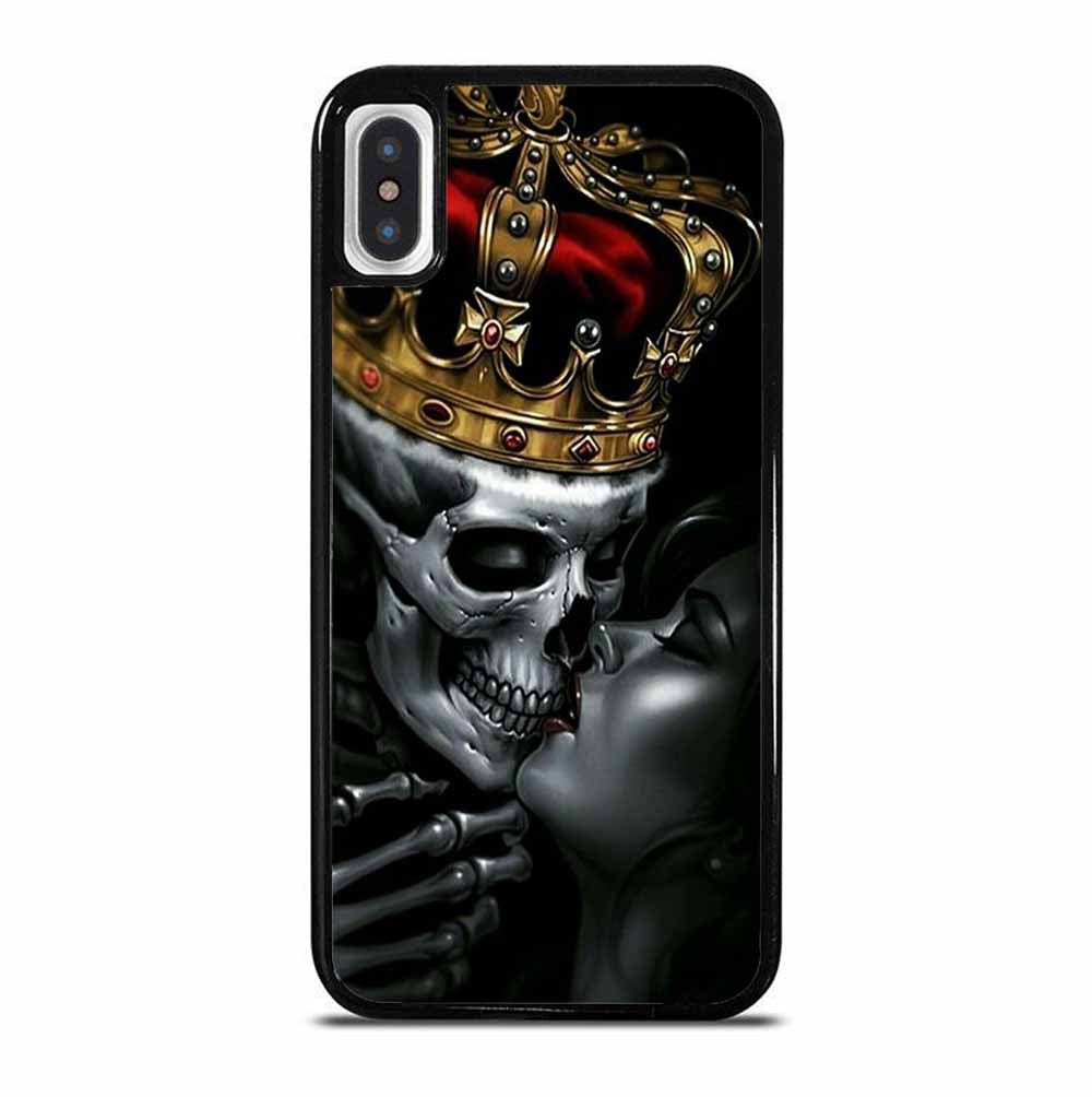 KIN SKULL KISSING iPhone X / XS Case