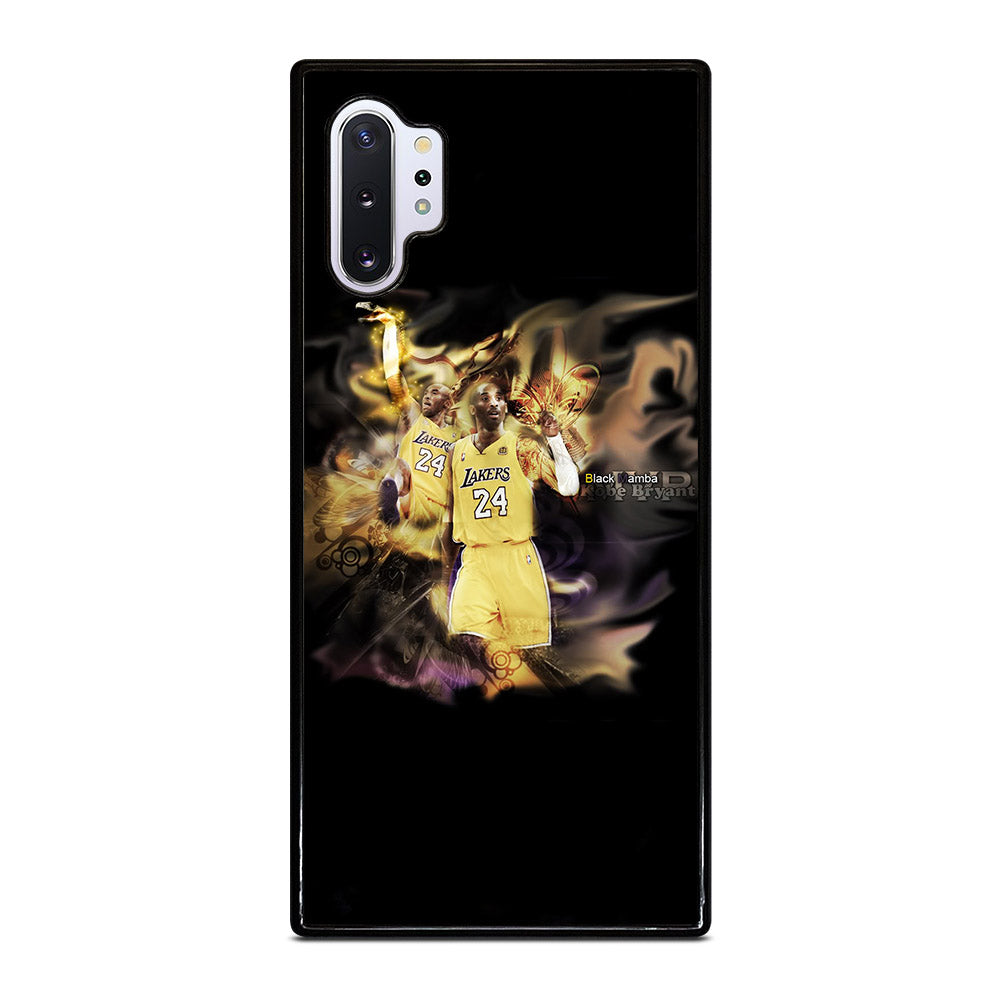 KOBE BRAYANT THE BLACK MAMBA Samsung Galaxy Note 10 Plus case