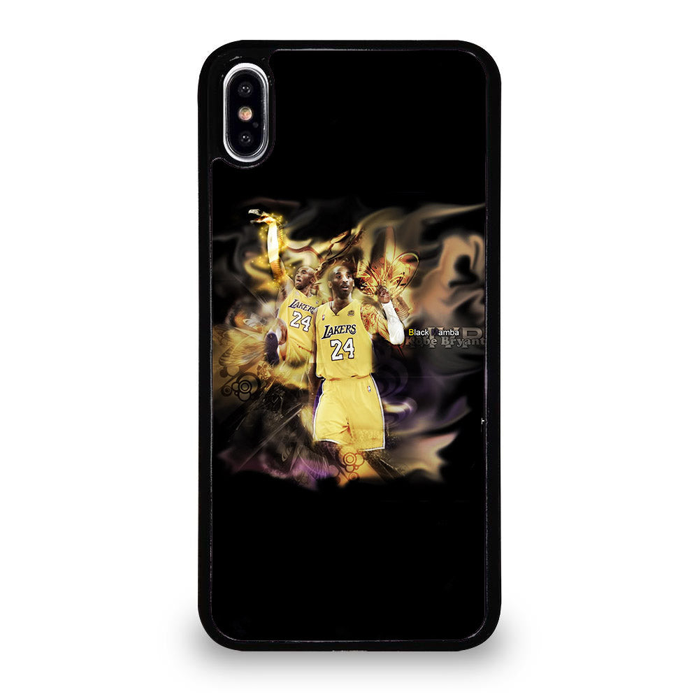 KOBE BRAYANT THE BLACK MAMBA iPhone XS Max Case