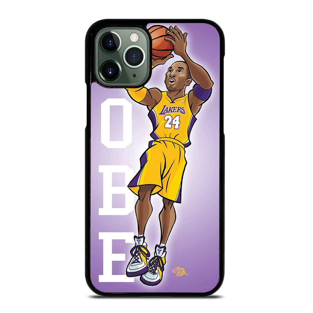 KOBE BRAYEN CARTOON iPhone 11 Pro Max Case