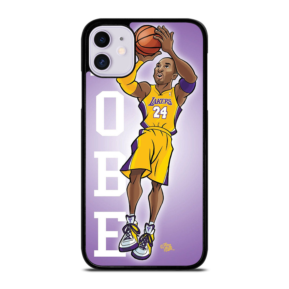 KOBE BRAYEN CARTOON iPhone 11 Case