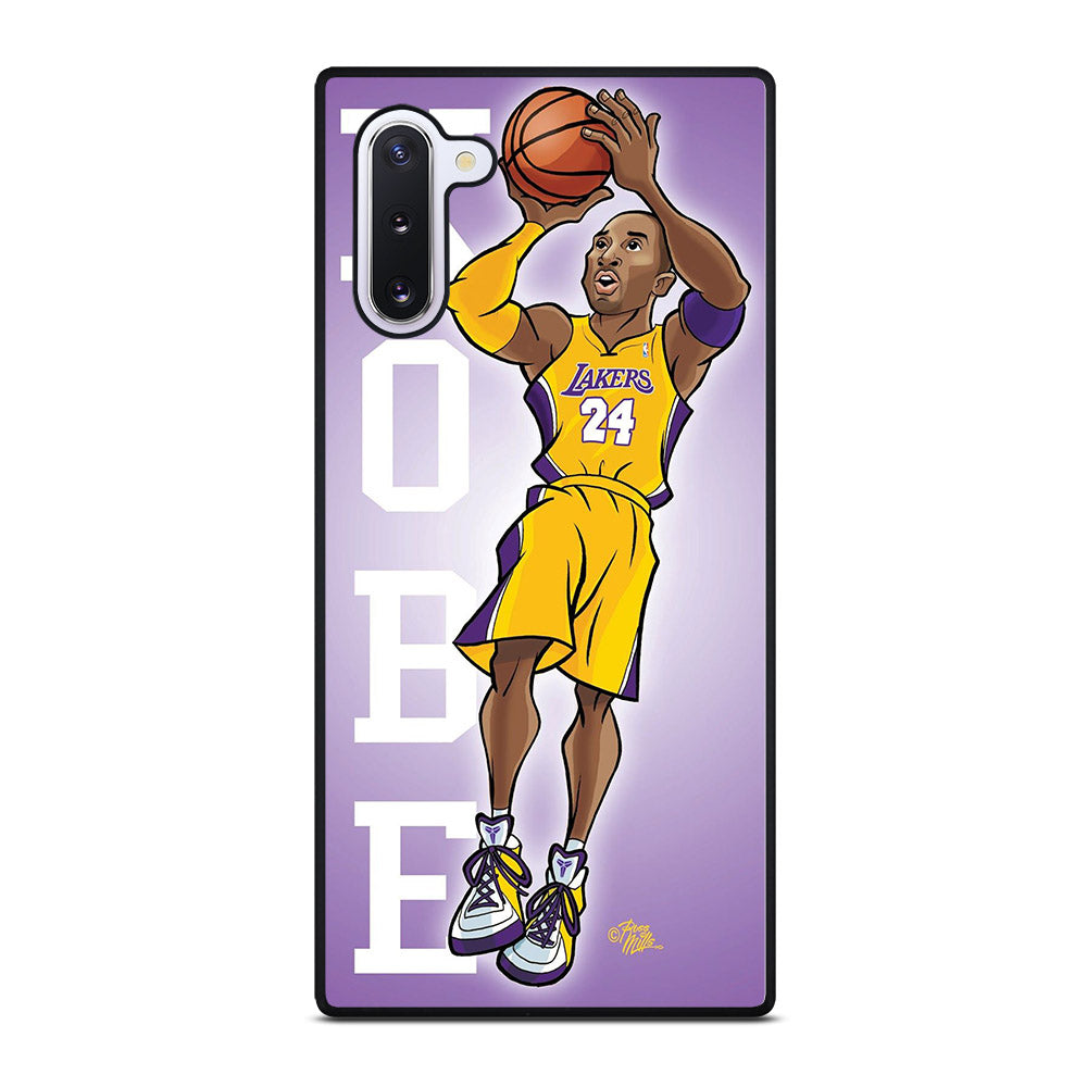 KOBE BRAYEN CARTOON Samsung Galaxy Note 10 case