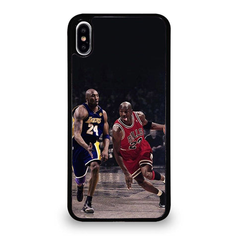 KOBE BRYANT MICHAE JORDAN BASKETBALLL iPhone XS Max Case