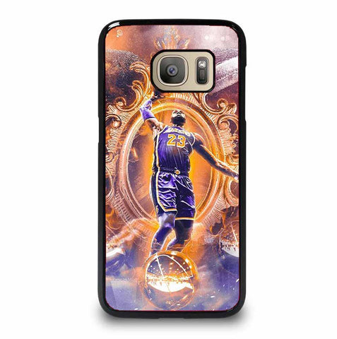 LEBRON JAMES LA LAKERS 1 Samsung Galaxy S7 case