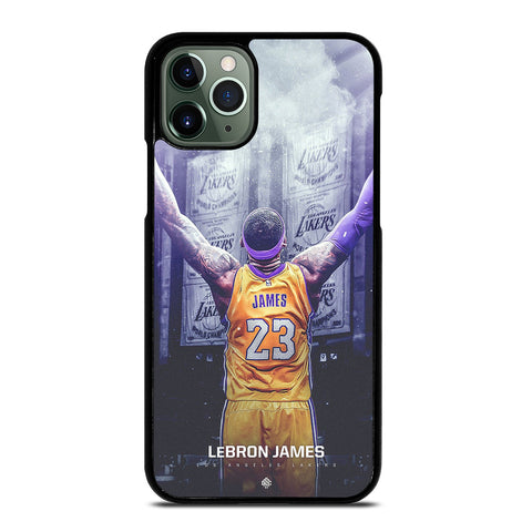 LEBRON JAMES LA LAKERS iPhone 11 Pro Max Case