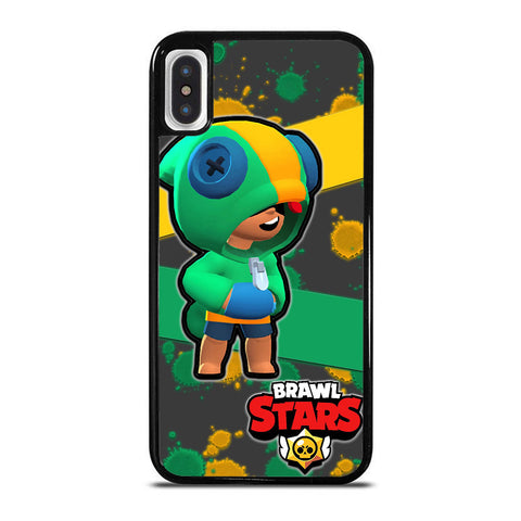 LEON BRAWL STARS iPhone X / XS Case